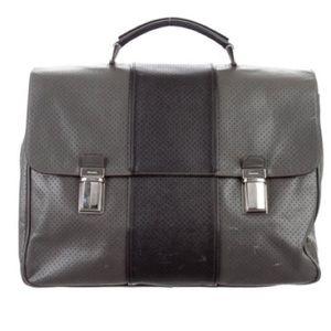 Prada: Saffiano Fori Briefcase